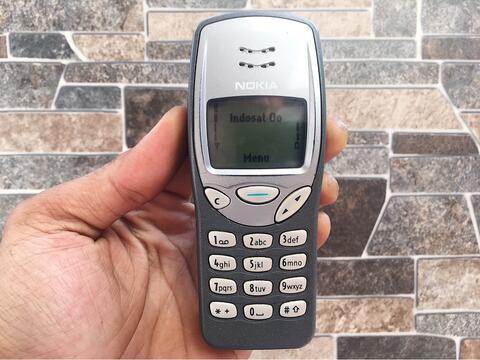 Nokia 3210 Abu Normal Hp Jadul Klasik Langka Antik Handphone Nostalgia