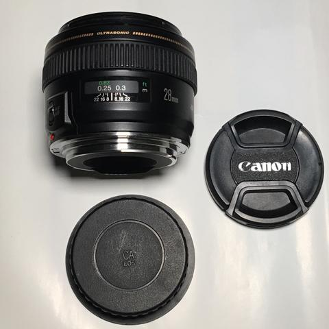 lensa canon 28mm f1.8 usm