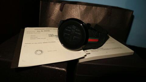 jam tangan GUCCI ORI 100% pvd