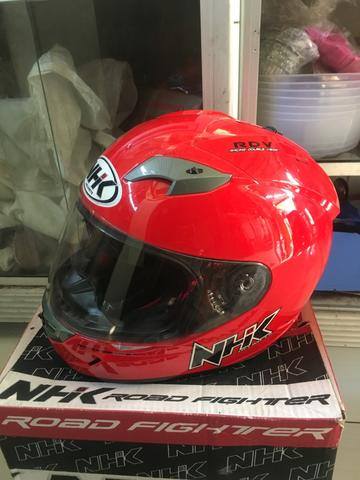 Helm NHK Merah. double visors