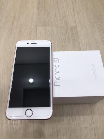 iphone 6s 16 rosegold garansi inter masih aktif bon beli lengkap bandung