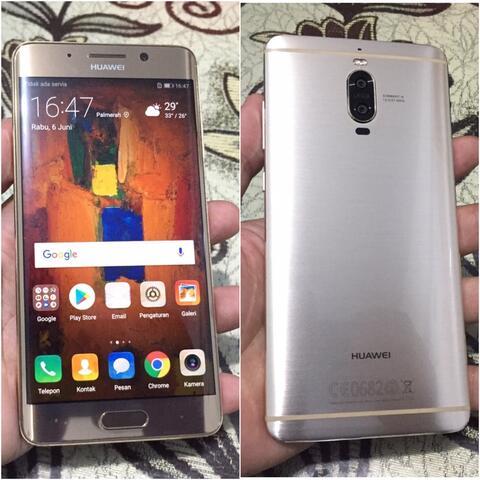 Huawei Mate 9 Pro 6/128Gb Gold Dual No Dus Mulus Bisa tt