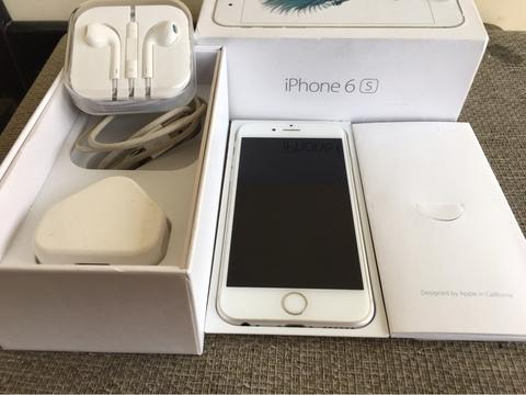iphone 6s silver 64gb malang