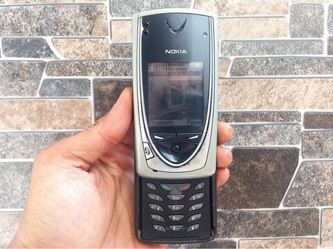 Nokia 7650 Normal Hp Jadul Slide Klasik Kamera Handphone Nostalgia