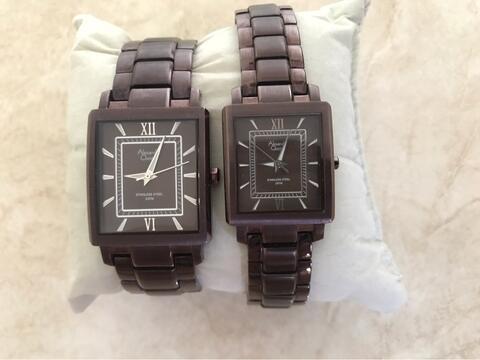 Alexandre Christie Couple / Pasangan 8241MH - 8241LH ORI Jam Tangan / Arloji