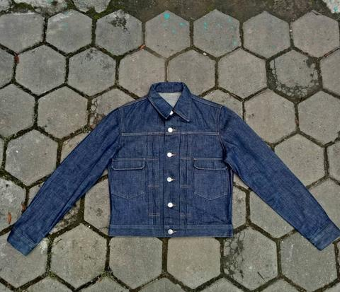 APC / A.P.C vintage selvedge denim jacket type / tipe 2