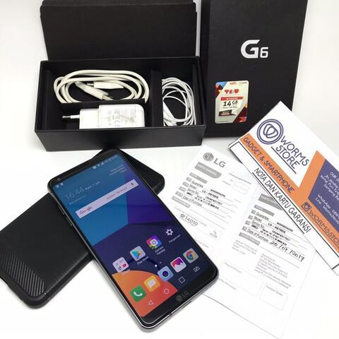 LG G6 Resmi indo Mulus Fullset Garansi bandung