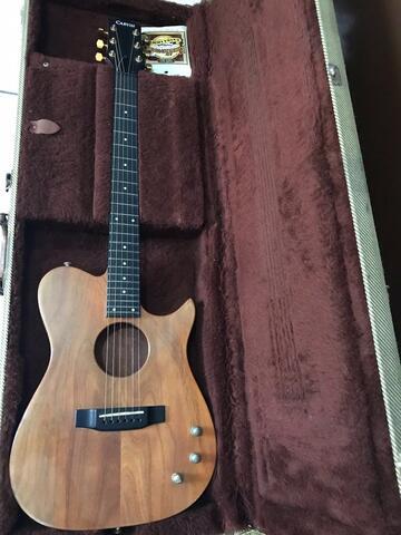 gitar akustik elektrik carvin AC 175