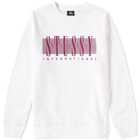 STUSSY International Crewneck - White