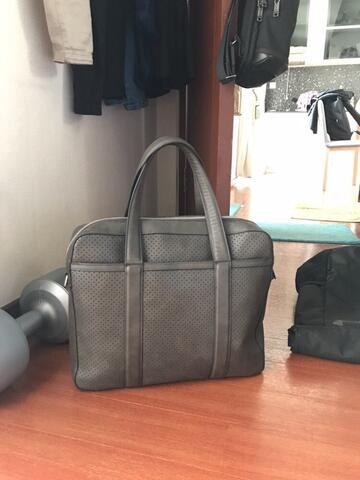 Tas kerja cowok/briefcase Mango man 2nd 100% Authentic