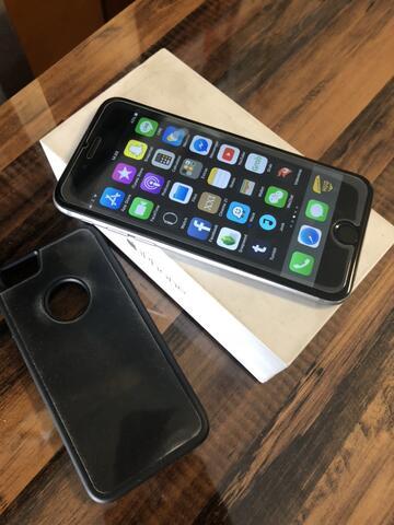 apple iphone 6 FU 128gb grey lengkap dus buku bandung