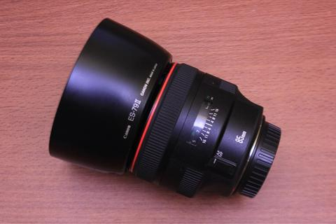 Canon EF 85mm F1.2 L II USM Like New Kode UA Fullset