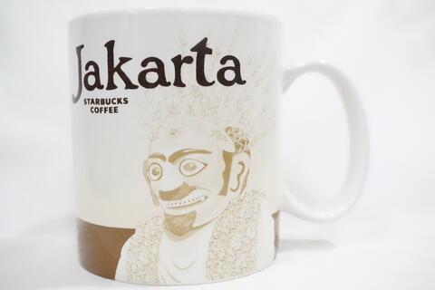 Starbucks Mug Jakarta Indonesia Iconic City