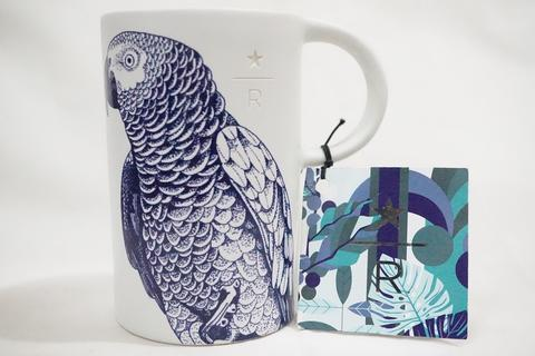 Starbucks Reserve Mug Ceramic - Parrot Blue Limited