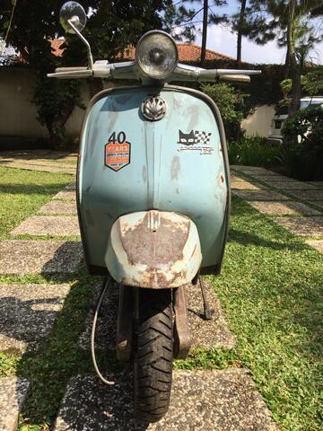 Lambretta J125 1966 not Vespa