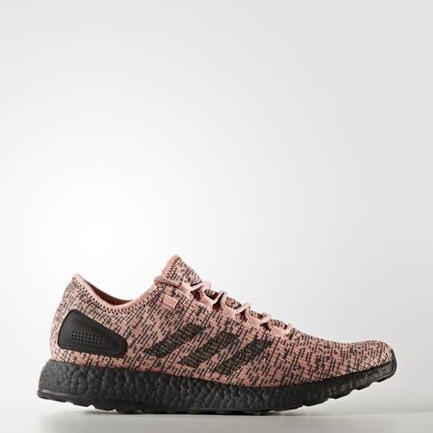 Adidas Men Pure Boost Running Shoes Salmon Originals