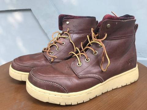 Vans Learher Boots size 42/43 ori
