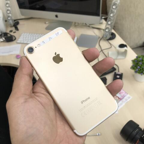 UNTUNG STORE >> iPhone 7 32gb Gold Fullset Normal ex inter