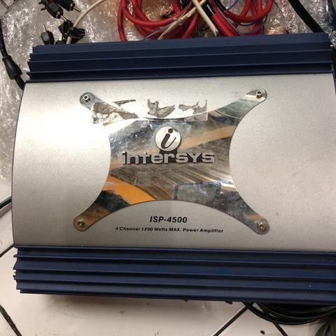 power ampli intersys isp4500