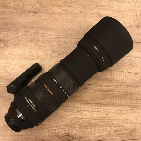 CSZ - Sigma 150-500 APO DG HSM For Nikon murahhhh