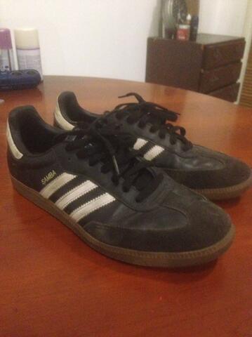 Adidas samba suede ori second size 10US