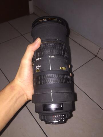 lensa Sigma 50-500mm f/4.5-6.3