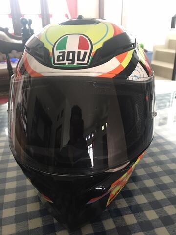 [Jual Cepat] Helm AGV K3-SV Size XL + Bonus Pinlock