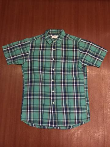 Kemeja lengan pendek Uniqlo 2nd 100% Original like new murah