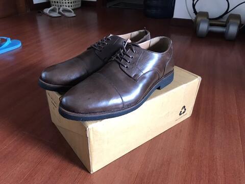 Sepatu pantofel cowok murah 2nd like new Bata & Ben Wickel