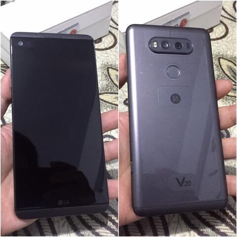 LG V20 64Gb Dual Titan Mulus Fullset Bisa tt