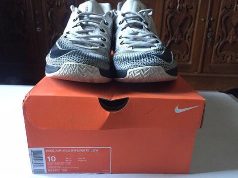 Sepatu basket Nike Air Max Infuriate Low size 44