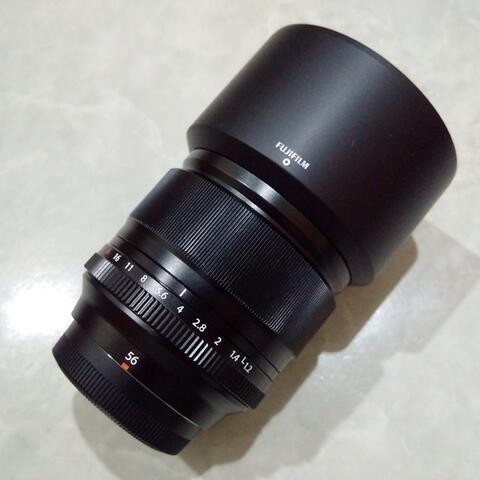 [CAKIM] WTS lensa Fuji Fujinon XF 56mm F1.2 R mulusss