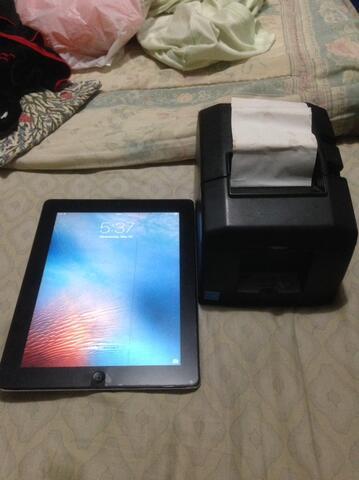Printer Moka POS + Ipad 2 paket buka toko