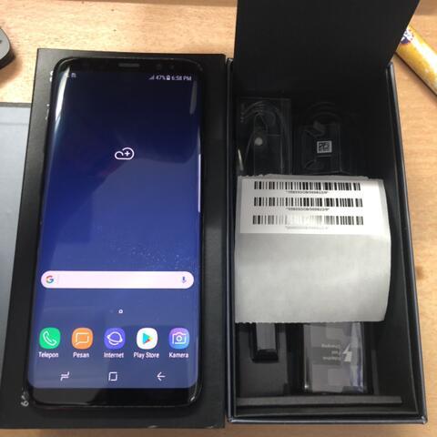 Samsung Galaxy S8 Single sim 64GB Black Good Condition ex Samsung Vietnam asia