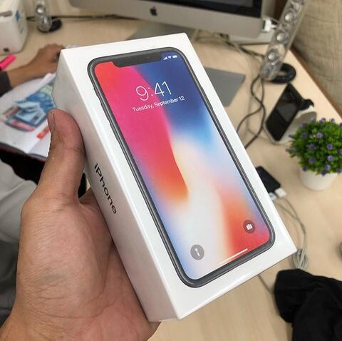 UTUNG STORE >> iPhone X 64gb Space Gray BNIB iBox