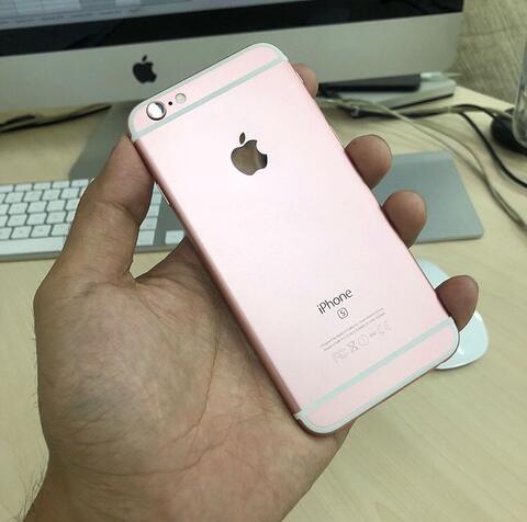 UNTUNG STORE >> iPhone 6s 128gb Rose Gold Mulus Fullset Normal gan