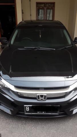 Honda Civic Turbo 1.5 Tahun 2016 Mulus, ganteng !!!