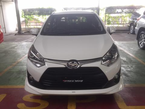 All New TOYOTA AGYA 1,2 G TRDAgy a/t