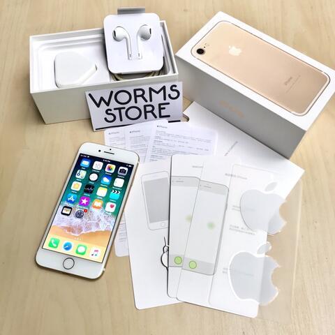 iPhone 7 32Gb Gold Mulus Like New Fullset Garansi bandung