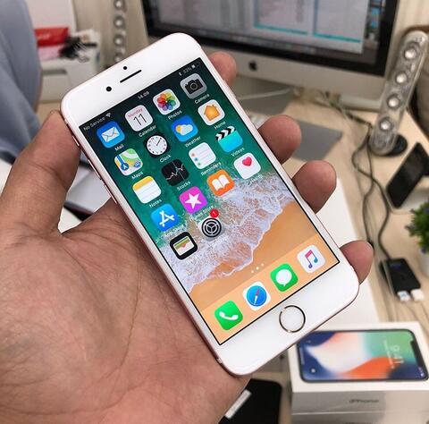 UNTUNG STORE >> iPhone 6s 16gb Rose Gold Mulus Fullset Jaksel Gan