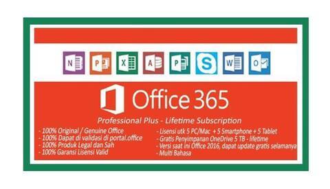 Microsoft Office Original Lifetime Update