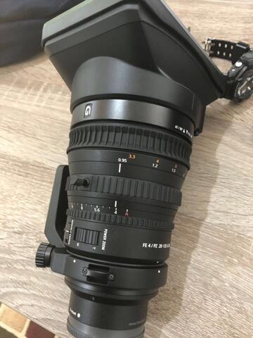 Sony FE PZ 28-135mm G OSS