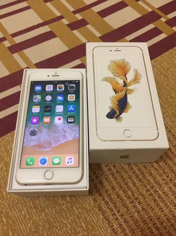 iPhone 6s Plus 64GB Gold FU, Model ZP/A, Siap Rekber dan COD Bandung.