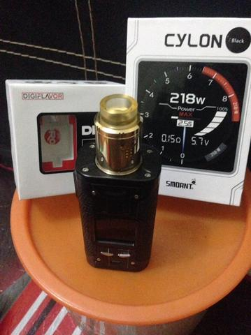 Smoant Cylon + Drop RDA by Digiflavor