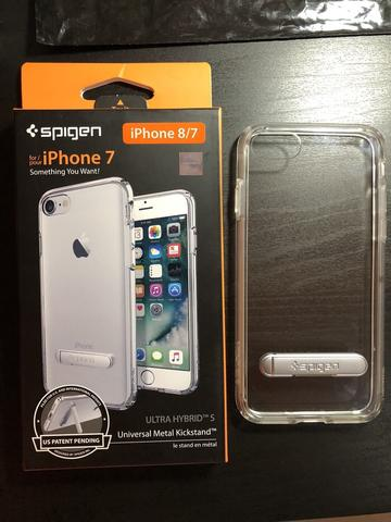 SPIGEN Ultra Hybrid S iPhone 7 - Crystal Clear