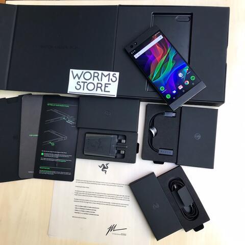 Razer Phone Gaming, Mulus Fullset Ori Bandung