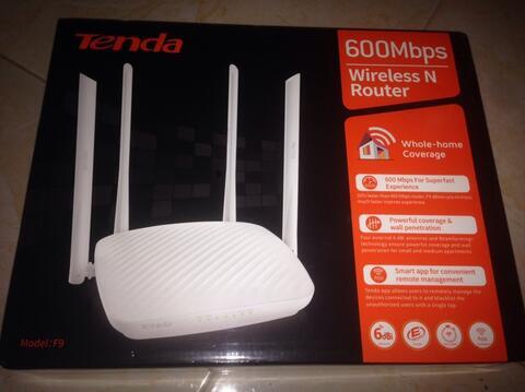 TENDA MODEL F9 600Mbps