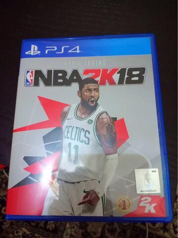 NBA 2K18 BD Region 3 original