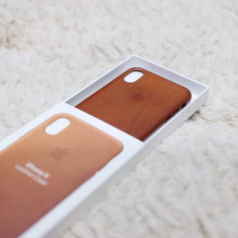 Original iPhone Leather Case iPhone X