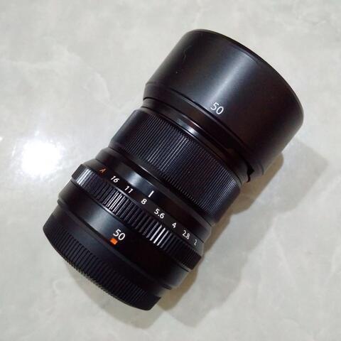[CAKIM] WTS lensa Fuji Fujinon XF 50mm F2 WR